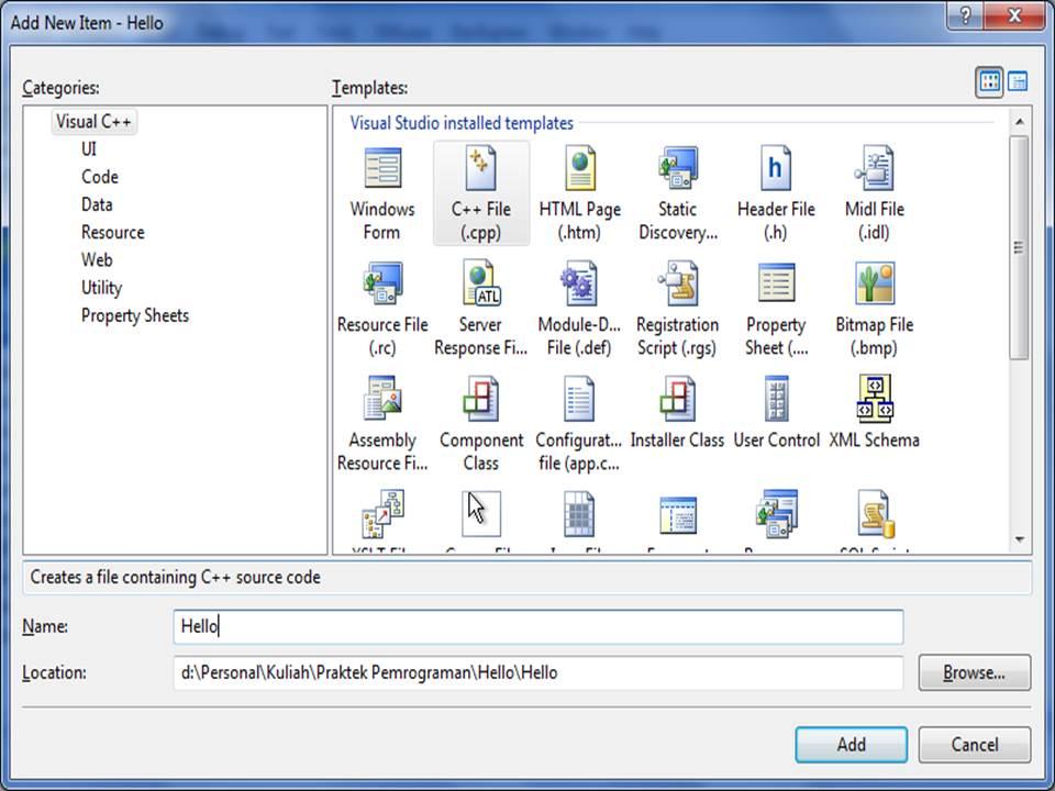 visual studio 2012 tutorial pdf